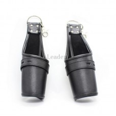 Leather Handcuffs Love Cuffs for Hen/Stag Nights