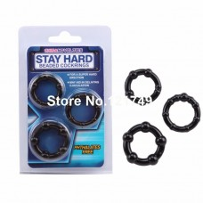 Stay Hard Delay Penis Rings(3Pcs/Set)